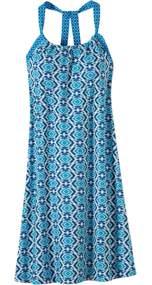 Prana W's Quinn Dress Blue Guava